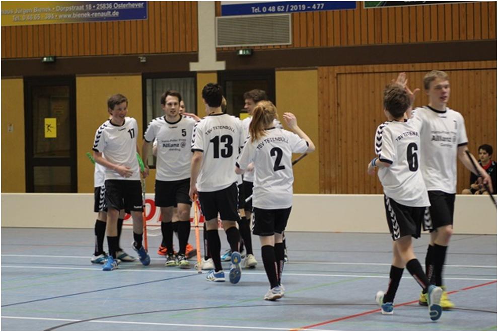 Torjubel im Spiel gegen Hamburg