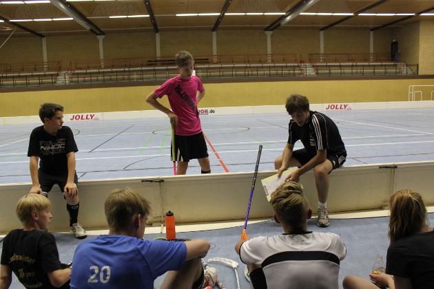 Taktiktraining mit Fabio Witte
