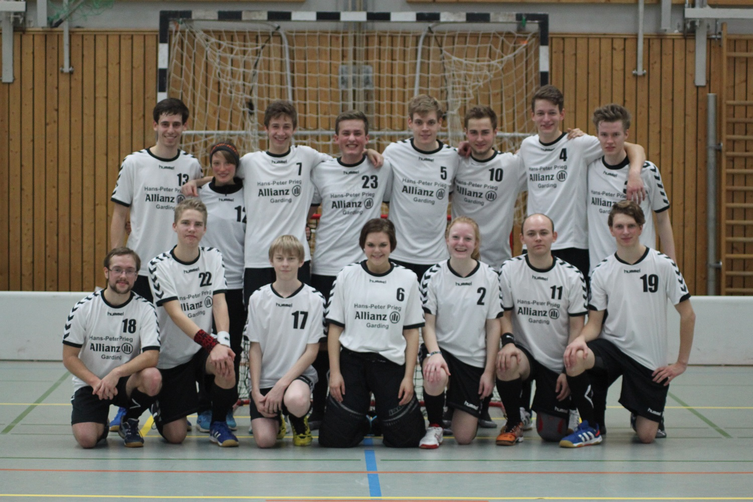 Das Herrenteam der Saison 2014/2015