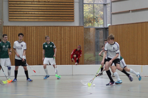 Jens Grehm am Ball