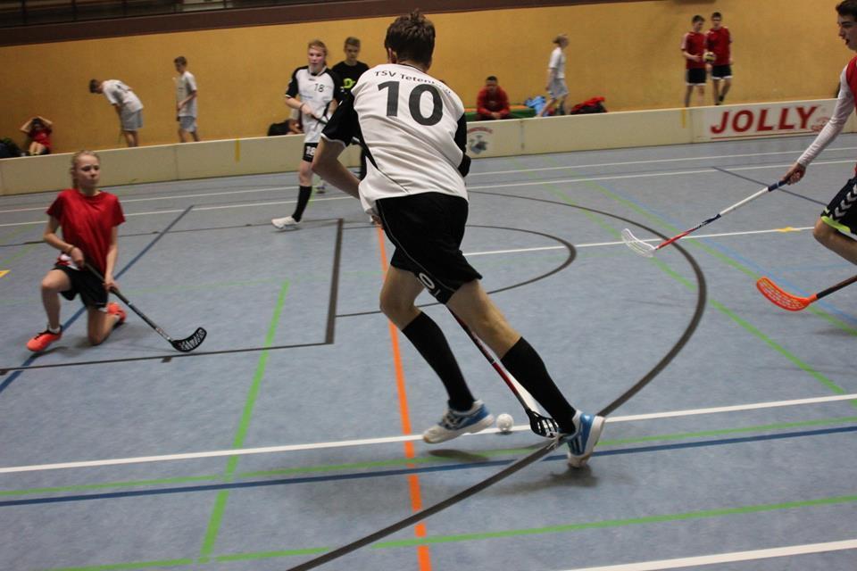 Landesfinale Floorball Frederick Trapp