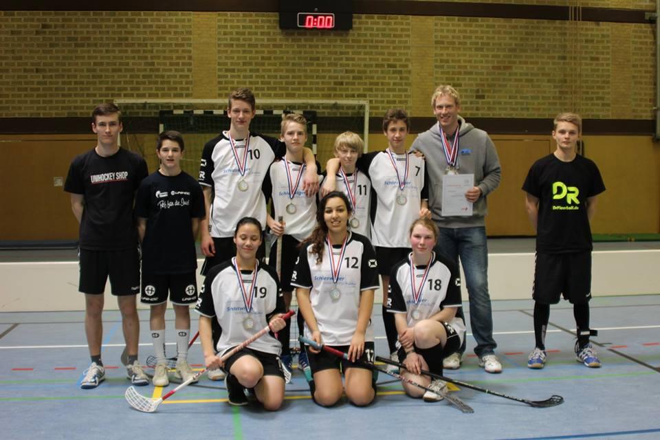 Landesfinale Floorball Team Nordseegymnasium