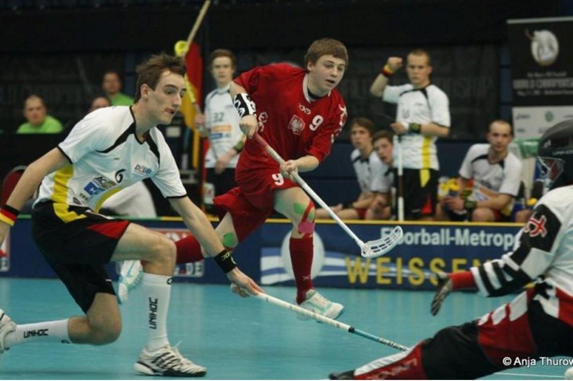 Floorball Weltmeisterschaft Deutschland vs. Polen