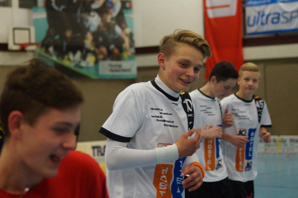 Lukas Bieger Floorball Nationalteam