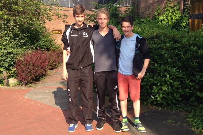 Drei Tetenbüller zur U17 Trophy