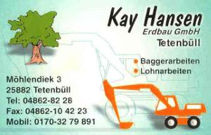Baggerunternehmen Kay Hansen