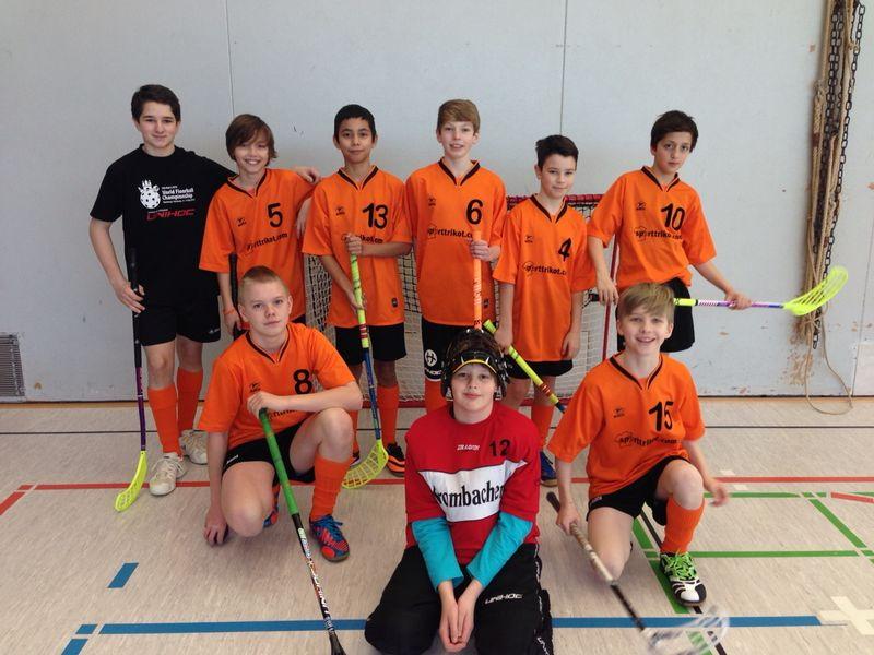 U13 Floorballteam