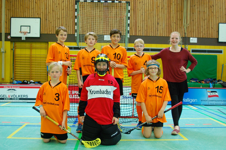 Das U13-Team der Saison 2014/2015
