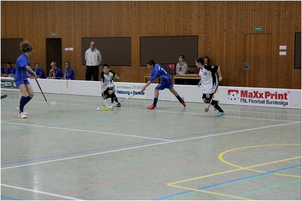 Mattia Bohnet am Ball