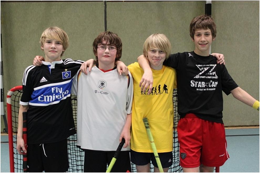 Vier junge Talente im TSV Tetenbüll