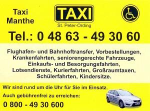 Logo Taxi Manthe