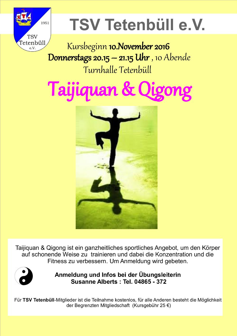 Plakat Taiji