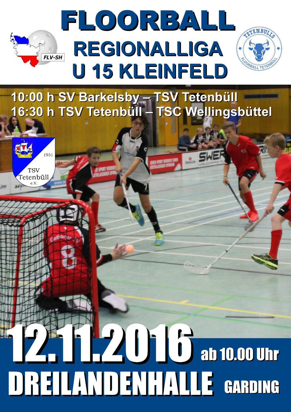 Plakat U15 Spieltag