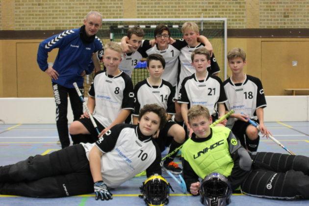 Teamfoto U15 Tetenbulls